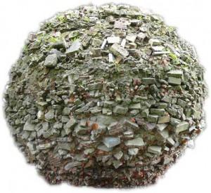 bal van stenen